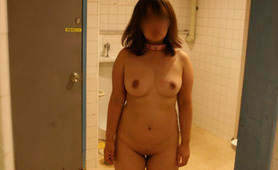 Japanese slave outdoors