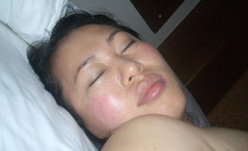 Chubby Korean wife