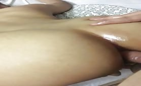 Asian wife anal