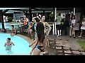 Angeles City Pool Party with Sexy Filipino Ladies Part One